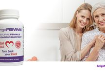 BergaFEMME / BergaFEMME for women's heart health and performance. Improves mood and reduces menopausal symptoms.