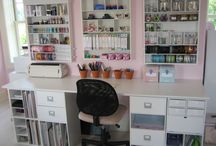 Craft Room/Office / by Crystal Watson