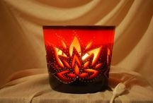 Σκαλιστά κεριά λάμπες (γλυπτική πάνω στο κερί) / Οι δημιουργίες μου Χειροποίητα κεριά