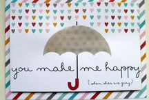 simple cards made by Project Life cards / these cards are made by 3 x 4 and 4x 6 Project Life cards