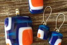 glass jewelery