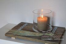 Landelijk en stoer: DIY / DIY landelijke stijl. Decoraties en zelfmaak ideeën voor in je landelijk thuis.