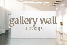 Indoor Advertising Mockups on Creative Store / Indoor Advertising Mockups on Creative Store