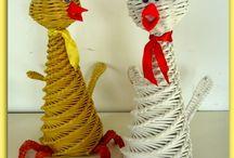Спиральное плетение - Конусные игрушки