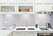 Inspiration cuisine / Découvrez nos panneaux et crédences de cuisine en situation