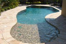 Pools and Backyard
