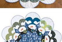 table runners and toppers / by Barb Mikielski