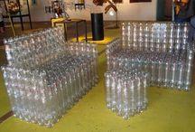 műanyag palackból