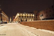 Ferrara, neve 2012 / Ferrara, fotografata da una ferrarese d'adozione.