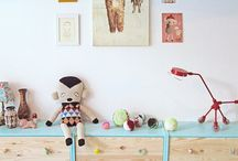painting ideas for furniture dressers kids / Male kommode