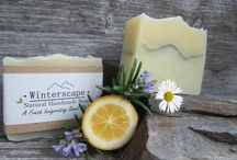 Our Range- Soaps & Body Treats / Honey and Spice creates a range of natural Soaps and Skincare which are a pure treat to experience! From her cottage studio in Kakanui, Rosie creates her own recipes and scent blends which are bold and flavorsome yet mild soothing and nourishing for your skin. All products are made from the finest natural ingredients. We use plant oils and butters, herbs, petals, honey clays and spices, and precious, pure, natural essential oils extracted from botanicals.- No Fragrances! & No Palm oil!