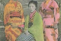"Karayuki-san / From 1860's to 1920, Japanese women traveled abroad to work as prostitutes. They traveled to the most remote places, often coinciding with ""frontier"" places where there were more men (laborers) than women - Siberia, Singapore, Penang (Malaysia), Vietnam, Australia, Bornea, Calcutta, Bombay, Madagascar, Seattle, Cranbrook (Canada), west coast of Africa... This board is devoted to the traces of their lives."