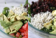 clean eating/salads and dressings / by Kelly Martin