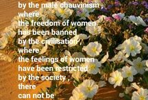 The power of women...
