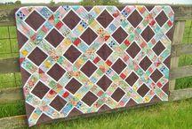 scrap  quilt / patchwork