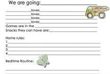 babysitter information / by Lanee Neese Nye