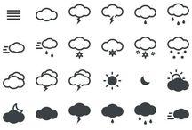 天気icon