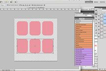Project Life / Tutorials, Ideas and images for printable cards.
