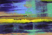 Raymond's Originals - Abstract Art / Paintings on wood panels