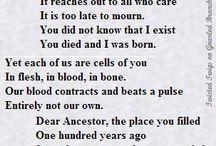 dear ancestor