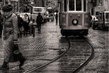 City, people