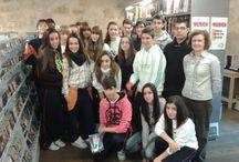 Visitas y formación con los centros educativos de Salamanca