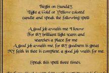 Witchy Spells! / by Jennifer Gillis