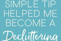 Decluttering and Organizing Tips and Ideas / Tips for decluttering your home and getting organized. Everything from organizing on a budget to what to do after you declutter. All the best decluttering tips to help you live your best life in a clutter-free home. Contributers: Please repin one for every pin you pin. Max 2 per day.