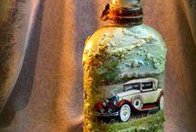 Deko-Flaschen