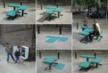 Urbanmind+benches