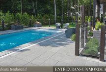 Piscines  Pools Decks / Bolduc vous permet de profitez de l'été en ayant un air de vacances dans votre cour.   A vacation in your own backyard its possible with Bolduc!