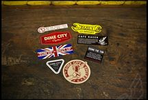 Cafe racer decals & stickers
