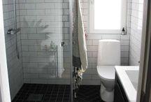 Wc ja kylpyhuone, sauna, khh