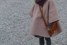 Sewing / Little girls poncho