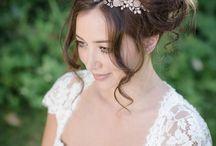 Garden of Eden headdresses / Pretty floral headdresses inspired by the mythical gardens...