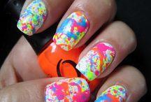 Nails - Splatter