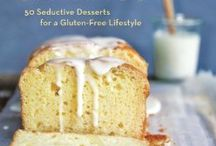 Sweet Cravings: 50 Seductive Desserts for a Gluten-Free Lifestyle / Browse select recipes from Kyra Bussanich, founder of Kyra's Bake Shop, award winning book Sweet Cravings: 50 Seductive Desserts for a Gluten-Free Lifestyle. / by Kyra's Bake Shop