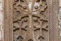 Ravishing beauty of stone / Armenian ancient church & cross stone / by Nora Avrikyan