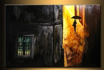 MY PAINTINGS / by new wave art gallery