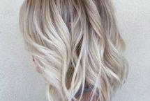 Halblanges Haar