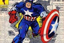 Marvel and Kirby / by Joseph Di Lorenzo