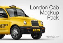 Vehicle Mockups on Creative Store / Vehicle Mockups on Creative Store