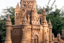 Sand Castles / I am hoping that our next vacation with the girls will be some sort of beach. I would love to build a sand castle. here is a little inspiration!