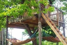 Tree houses and backyard fun