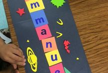 Space Ideas / Ideas, crafts, activities, games to go along with a Space Unit/Theme in Pre-K, Kindergarten or 1st grade!