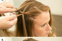 Hair Tutorials& Ideas