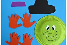 Cute Halloween Crafts for Toddlers and Preschoolers / Cute Halloween Crafts for Toddlers and Preschoolers
