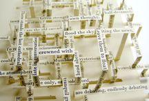 les mots en 3D