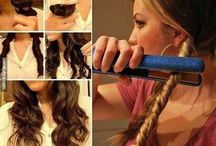Hair hacks and tips