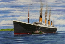 Titanic Historic Voyage In Art / Voyage of the Titanic Through the Art of Michale Ralph